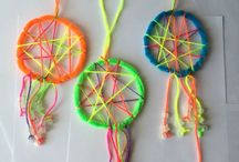 string and bead diys