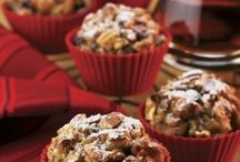 Muffins, oh muffins / All types of muffins (glorious muffins) with Georgia Pecans.  Additional recipes available at www.GeorgiaPecans.org. / by Center for Pecan Innovation