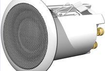 Altavoces / Altavoces de todo tipo:  - Para techo - Estéreo roca - Conmutadores y regulación de volumen - Accesorios. AVEQ - móduloss para empotrar