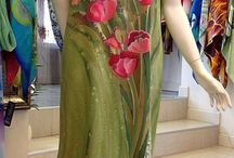 Šaty s milovanými kvetmi