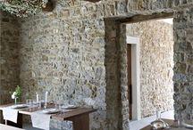 inside stone walls