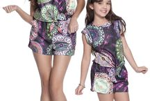Mãe e Filha / para as mamães que curtem se vestir como a filha e é claro, em alto estilo!