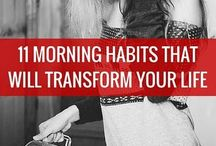 Good morning/habits!