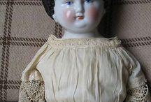 Antique Dolls - China Head
