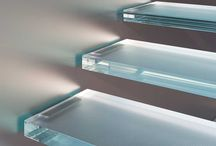 Glass floors and steps / Glass stairs and glass floors
