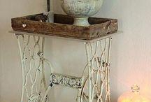 Ideias rusticas com objetos antigos