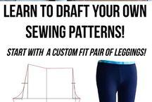 Sewing make own patterns