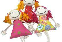 куклы брелки