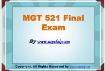 MGT 521 Final Exam Latest Question Answers