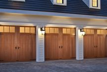 Garage Doors with Windows / Adding windows to your garage door can make an incredible difference! It boosts your home's curb appeal and gives the garage door a whole new look. Sometimes your garage can feel small and dark, but adding windows to your door can lighten the whole space up. They add charm and detail that will make your garage and home stand out.