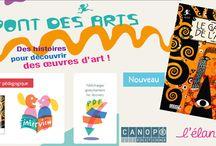 Histoire des arts / Fabriquons un musée imaginaire grâce aux albums Pont des arts