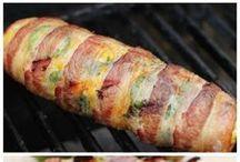 bacon wrapped corn grilled