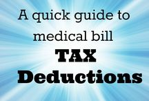Income Tax Help / Income Tax Medical Deductions