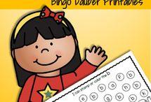 Fine Motor / Fine motor activities, printables and ideas for preschool, pre-K and Kindergarten.