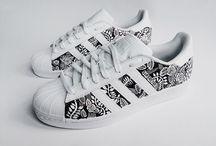 las zapatillas me mis sueños
