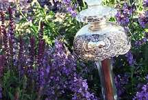 Garden Art - Glass & Ceramic Stakes