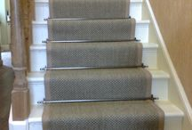 Carpet stair runners