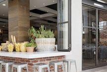 Cafe - Interior Exterior flow