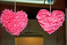 Valentine crafts