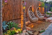 paredes con bambú