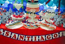 Nautical Birthday / decoración infantil para cumpleaños de niño