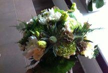 Bruidsboeket Iris
