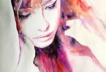 Watercolour/Pastels/Coloured Pencils