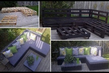 DIY outdoor furniture / by Trisha Stanley