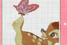 Cross Stitch - Bambi