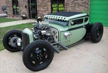Hot rods and Harley's
