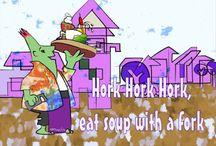 Horkies picturebook
