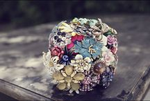 Brooch Bouquets / by Fly Me To The Moon Florists