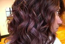 Choc Mauve Hair