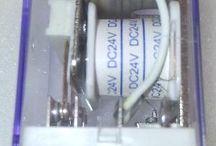 Relay 10A HLS-4453 18F  8 pin dengan  coil 24V Original HE LI SHUN