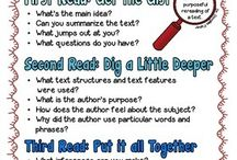 Close reading / Reading tips / by Diane Harris