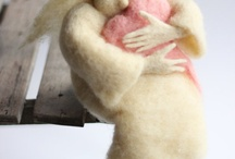 Felted Angels