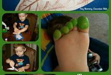 toddler hand and footprint crafts