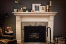 Fireplaces / by Sarah Wareham