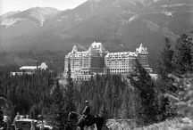 """Canada - Marilyn / In 1953 Marilyn Monroe came to Canada to make film """"River Of No Return"""". She stayed at Banff Springs Hotel in room number 816."""