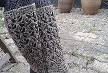 Crochet leggings