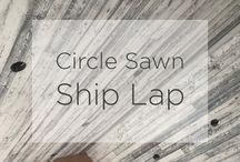 Circle Sawn Ship Lap