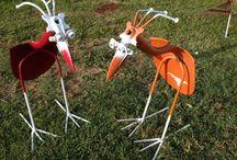 birds welded