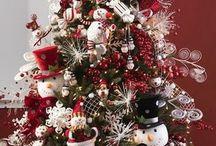 новогоднее - ёлки,идеи для украшения