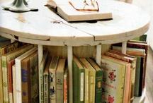 large wooden spool ideas / by Tonya Richardson