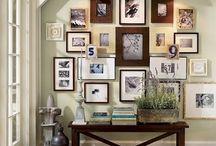 Картины и фотографий на стенах