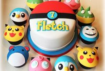 Pokemon cakes, cookies and cupcakes