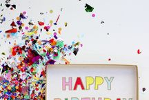 celebrate | confetti / celebrate the best way you know how. with confetti! / by Gabi Valladares