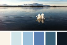 Colour Pallets / Inspired colour options for your home design & fashion projects