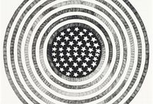 Stars & Stripes Collection / Celebrate the Fourth of July with this star-spangled group of works, featuring American flag appropriations and more conceptual abstractions from a variety of top artists including Sol Lewitt, Aleksandra Mir, Liam Gillick, and more.