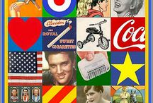 Y09 Pop Art - Peter Blake / Make a collage in the style of Peter Blake's Pop art montage